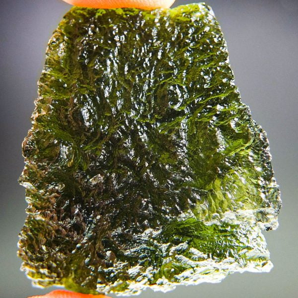 Large Investment Moldavite with CERTIFICATE - quality A+/++
