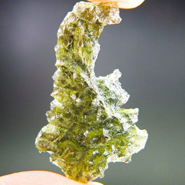 Angel chime Investment Moldavite from Besednice - Certified
