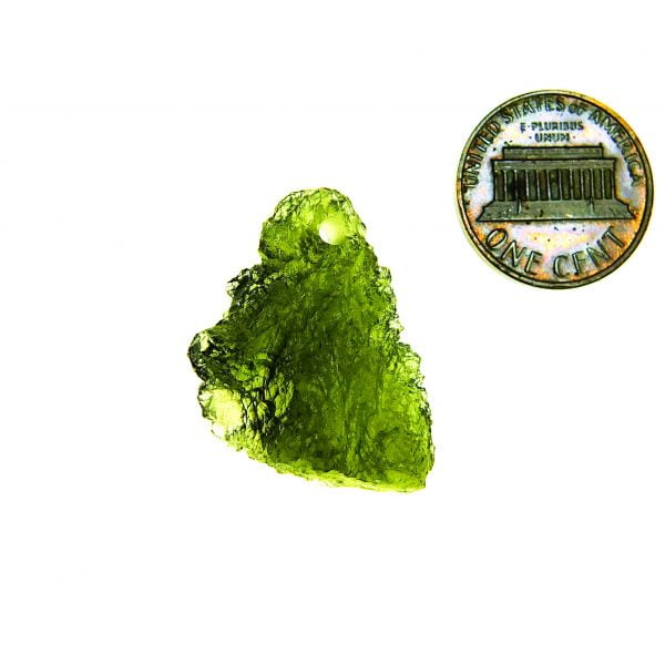 Certified Drilled Moldavite