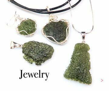 Moldavite jewelry - pendants, rings, bracelets, earrings