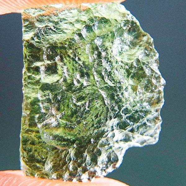 Moldavite - Vibrant green - Shiny